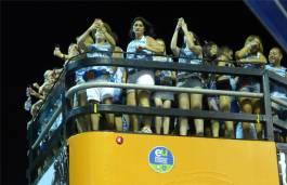 Carnaval vom Balkon aus