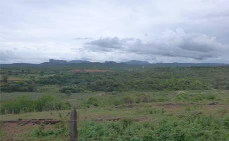 Diamantina Panorama mit Wolken