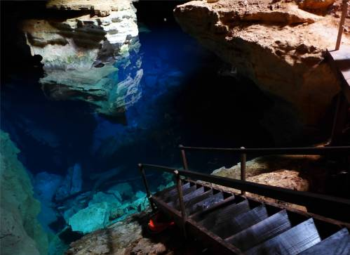 Diamantina Poco Azul hier waren wir baden