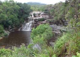 Diamantina wieder ein Wasserfall