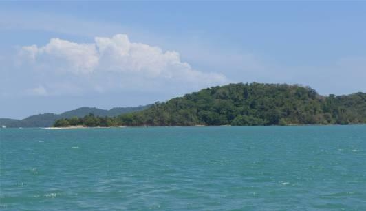 Ilha Vaca ganz in grün