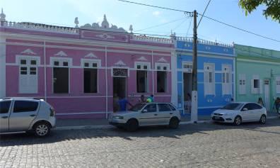 Itaparica farbenfrohe Nachbarschaft