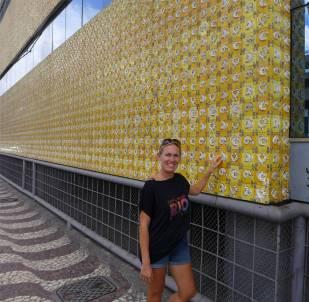 Salvador hässliches Gebäude coole Fassade