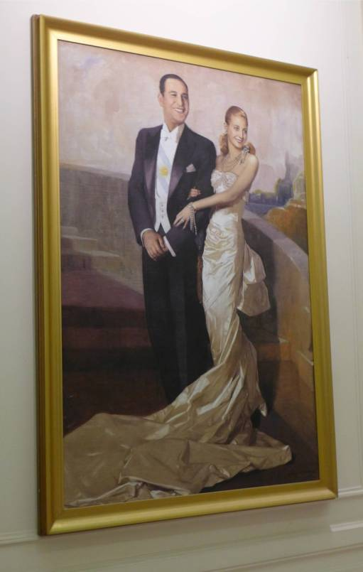 BA rosa Haus Portrait Ehepaar Peron