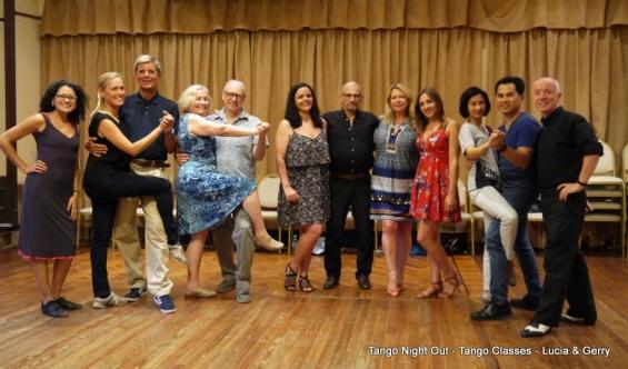 BA Tango unsere nette Gruppe