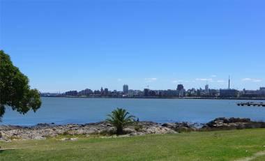 Montevideo am Rio de la Plate