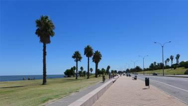 Montevideo an der Standpromenade