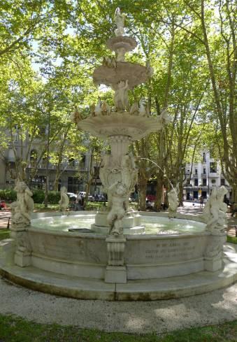 Montevideo Brunnen