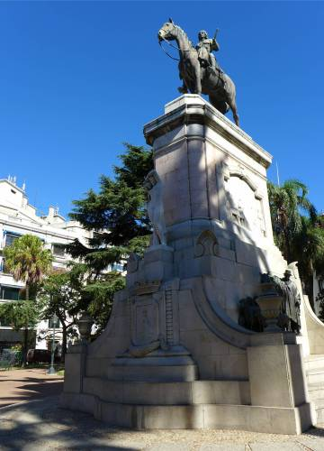 Montevideo Herrscher auf dem Pferd