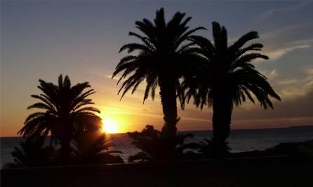 Montevideo Sonnenuntergang