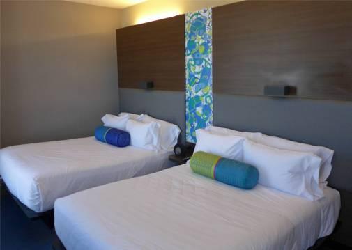 Montevideo unser Hotelzimmer ist viel schoener als das in BA