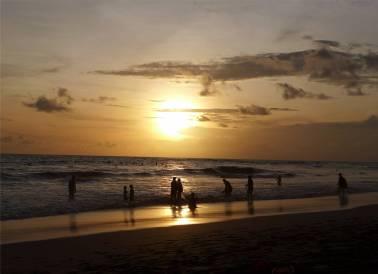 Bali am Strand von Canggu