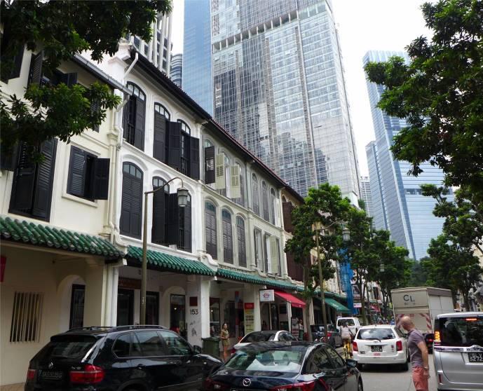 Singapore alt und neu