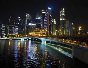 Singapore bei Nacht