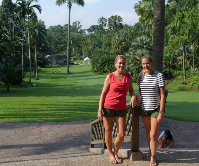Singapore im botanischen Garten