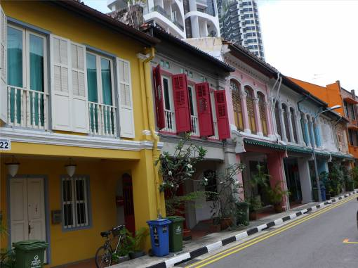 Singapore kann auch bunt