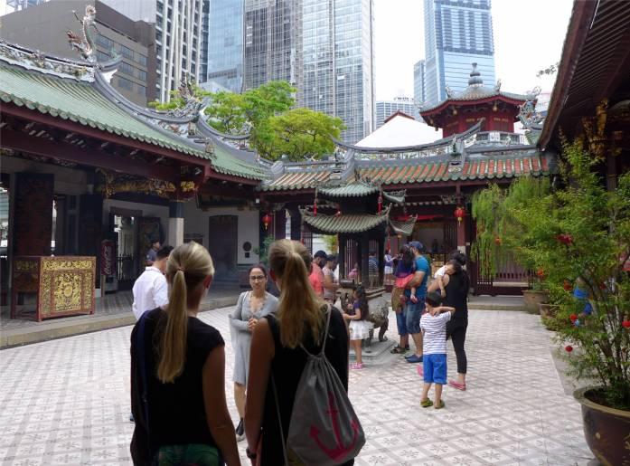 Singapore Tempelbesuch