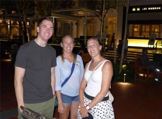 Singapore unterwegs mit Lisa und Keke
