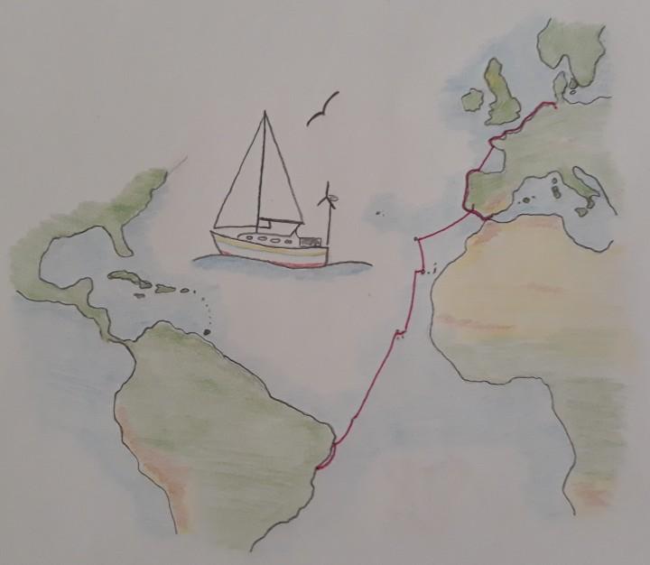 Karte Lesum bis Salvador