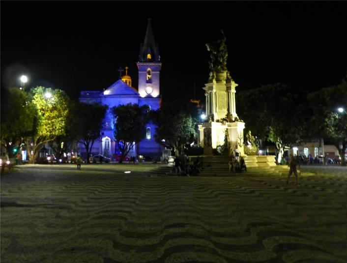 Manaus auf dem Opernplatz
