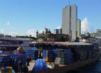 Manaus Getränketransport
