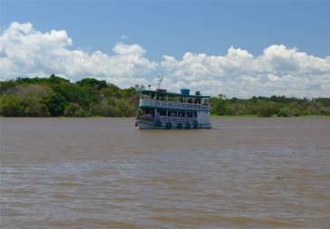 Manaus knuffige Flussschiffe