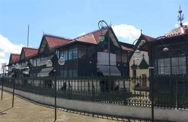 Manaus Markthalle luftige Stahlkonstruktionen