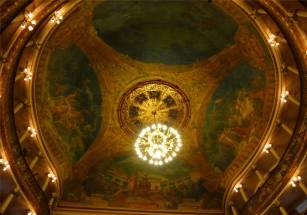 Manaus Oper die Decke