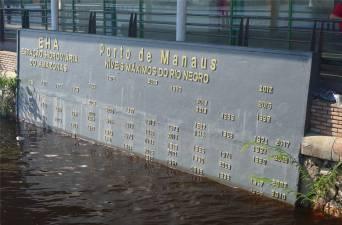 Manaus Pegelstände dieses Jahr ist das Wasser nicht so hoch