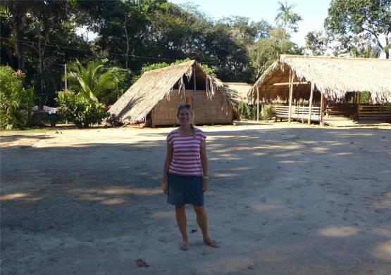 Manaus traditionelle Hütten