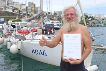 Salvador Kap Hoornier mit Zertifikat