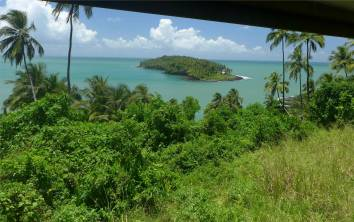 Ile Salut Blick auf die Teufelsinsel