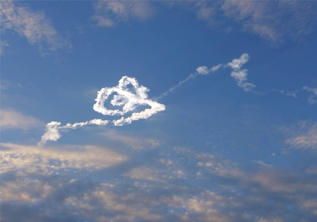 Kourou Raketenstart 5 Wolkenkringel