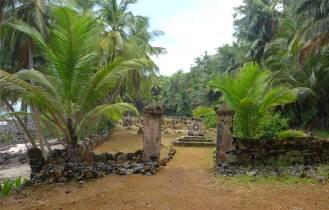 FG Ile Joseph Friedhof direkt am Meer