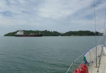 FG Iles Salut Tanker zu Gast