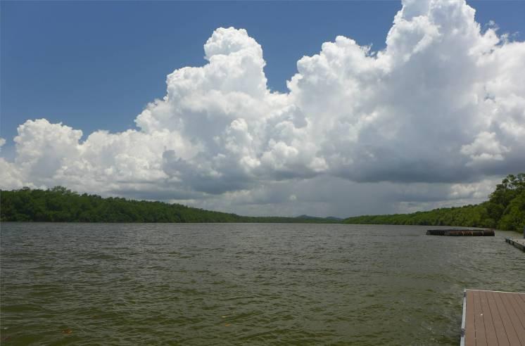 FG Kourou der Fleuve Kourou flussaufwärts