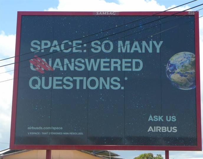 FG Kourou Nobbi gefällt die Airbus Werbung