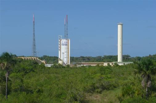 Kourou Space Sprungbrett für die Ariane
