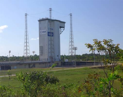 Kourou Space von hier gehts für die Vega Raketen ins All