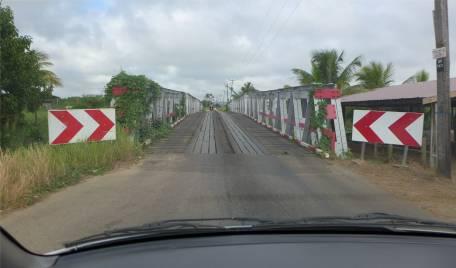 Suriname auf dem Weg zum Einklarieren