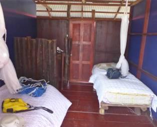 Suriname Bigi Pan Unterkunft eher rustikal
