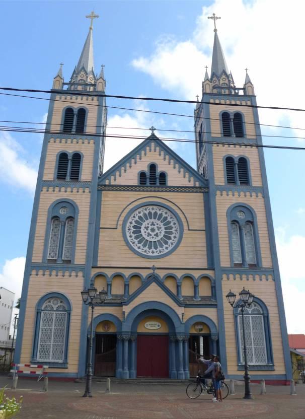 Suriname Kathedrale in Paramaribo
