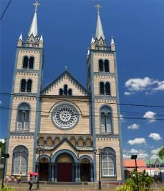 Suriname Paramaribo Kathedrale aus Holz