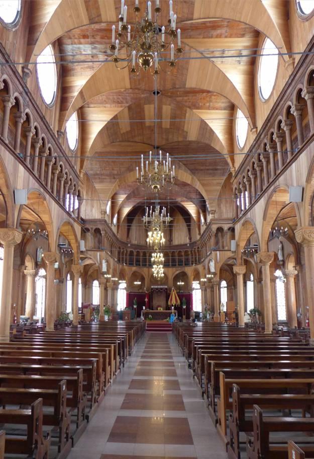 Suriname Paramaribo Kathedrale von innen