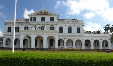 Suriname Paramaribo Präsidentenpalast