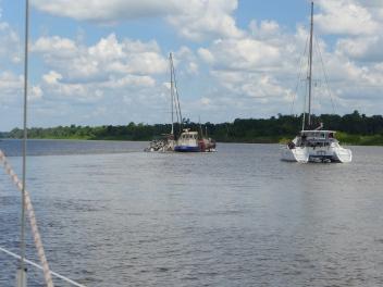 Suriname Schiff gerettet