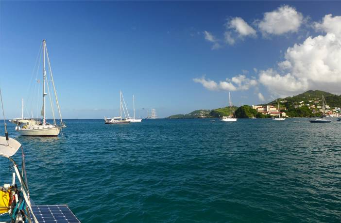 Grenada Ankern vor St Georges
