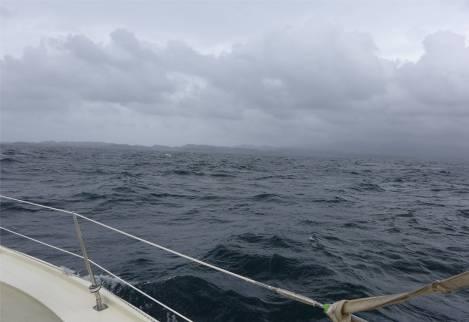 Grenada in Sicht willkommen in der Karibik