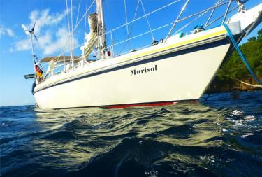 Grenada Mari an der Boje
