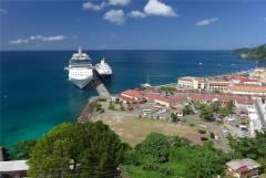 Grenada St Georges Kreuzfahrerpier